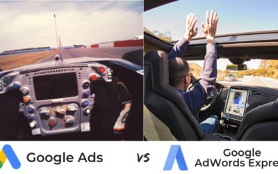 Google Ads VS Google AdWords Express: differenze tra le due piattaforme PPC