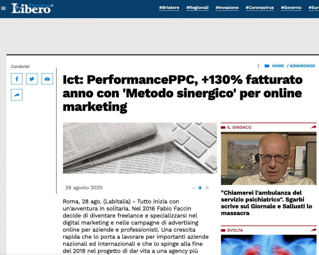 Quotidiano Libero PerformancePPC