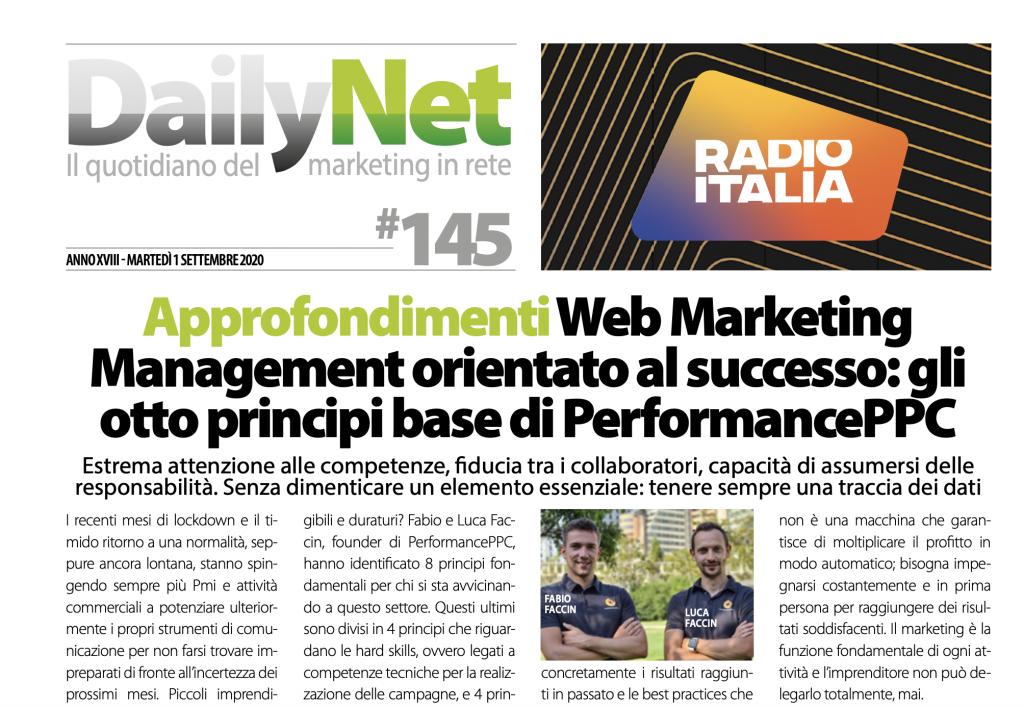 articolo daily net