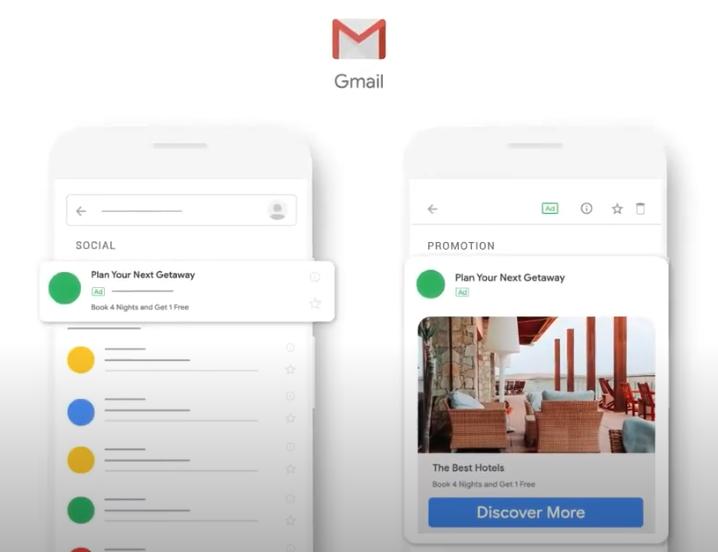 Posizionamento in Gmail
