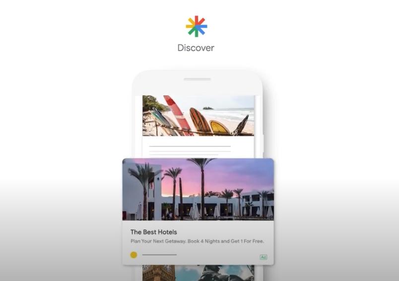 Posizionamento in Google Discover