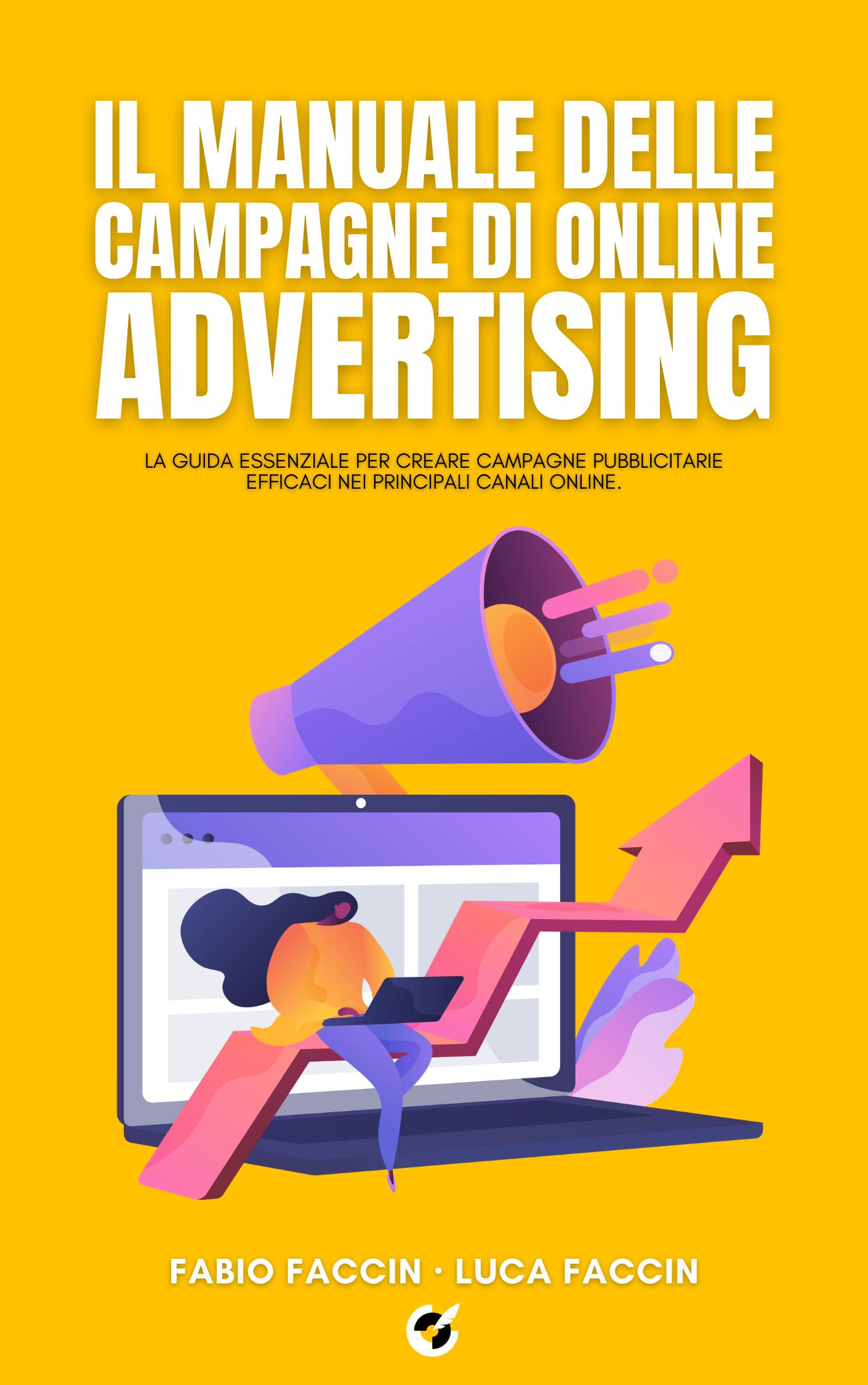 Il manuale delle campagne di online advertising libro fronte.