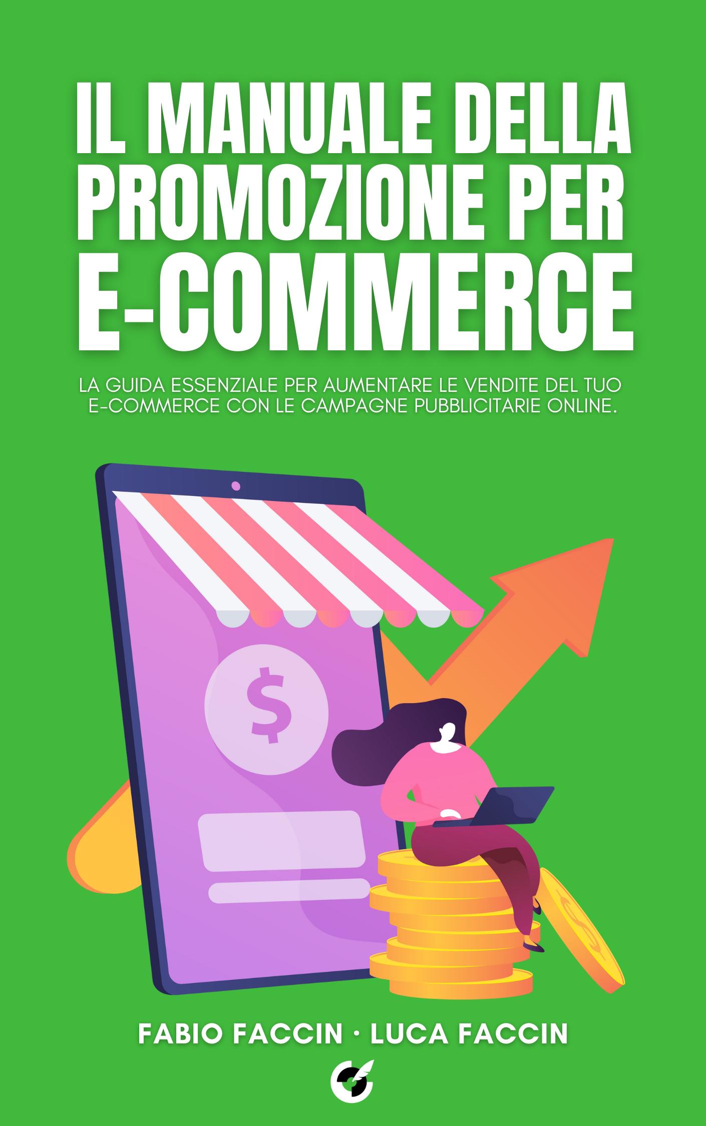 Il manuale della promozione per e-commerce libro fronte.