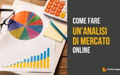 Come fare un'analisi di mercato online